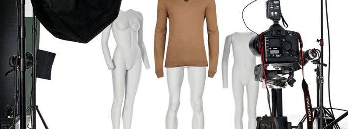 Предметная съемка одежды для интернета